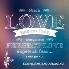 Beautiful...His love is perfect and unconditional, thank God!