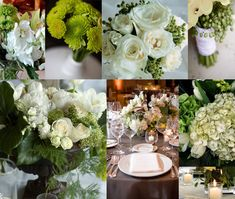 Green and white Flower Bouquet Wedding, Bridal Flowers, Winter Wedding Flowers, Floral Wedding, Flower Bouquets, Flower Centerpieces, Wedding Centerpieces, White Flowers, Green Flowers