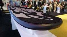 SwagSurf is the lazy man's surfboard Read more Technology News Here --> http://digitaltechnologynews.com  LAS VEGAS  All that time Swagtron spent riding the waves of hoverboard popularity and controversy seems to have paid off.   This week at CES in Las Vegas the rideable manufacturer introduced its first electric surfboard the SwagSurf.  SEE ALSO: An ex-Tesla engineer fixed everything that's wrong with the hoverboard  From a distance the SwagSurf looks like a sort of puffy surfboard but it…