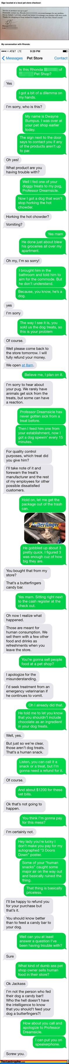 This site is HILARIOUS. This guy finds random numbers on ads and prank texts them! Click to read the rest.