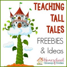 Teaching Tall Tales Freebies and Ideas - Homeschool Giveaways Traditional Literature, Traditional Tales, Tall Tales Activities, Genre Activities, Genre Study, Fairy Tales Unit, 4th Grade Ela, Third Grade Reading, Second Grade