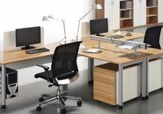 Schreibtisch Simply - OKA, Beleuchtung Büro