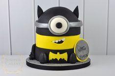 Batman themed Minion Cake by Juniper Cakery
