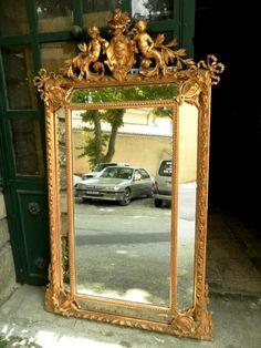 miroir ancien ovale poque napol on 3 miroir miroir pinterest napol on. Black Bedroom Furniture Sets. Home Design Ideas