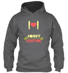 Joint Venture Dark Heather T-Shirt Front