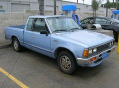 1985 Nissan 720 pickup white | Nissan 720 Trucks | Pinterest ...