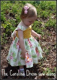 Sweet Girls dress.  I'll be making two for my grand-daughters