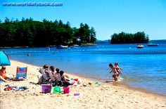 Sebago Lake, Maine - My mom use to bring me here every summer.. great memorie