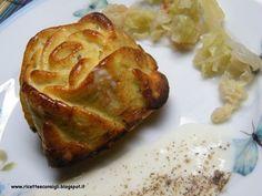 Ricetta Antipasto : Sformatini di verza alla crema di formaggio da Ilaesse