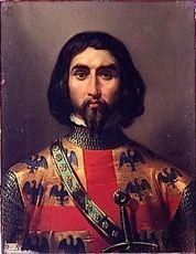 Charles Ier de MONTMORENCY °1307 +1381 Maréchal de France  Ep.(1)Marguerite de BEAUJEU - (2)Perronelle de VILLIERS (ph.L.PRIOU)