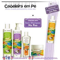 Linha Soul Carioca - Sou Dessas (Shampoo Low Poo) - (Condicionaodr, máscara, óleo e leave in liberados para No Poo)