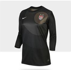 d3ee90db93f93 Nike 2012 13 US Replica 3 4-Sleeve Goalkeeper Women s Soccer Jersey -