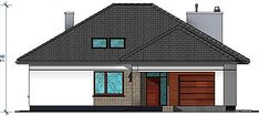 Projekt Domidea 2 d ps 119,87 m2 - koszt budowy - EXTRADOM Home Fashion, Bungalow, Ps, Shed, Outdoor Structures, Cabin, House Styles, Home Decor, Projects