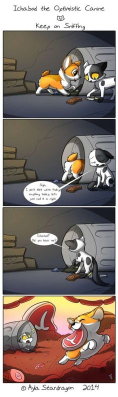 Ichabod the Optimistic Canine :: Keep on Sniffing | Tapastic Comics image 1