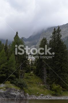 Edit Image #73850187: Chapel by the Mountain Lake - iStock
