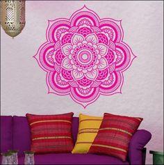 Mandala Wall Decal - Spa Room from Esty Spot