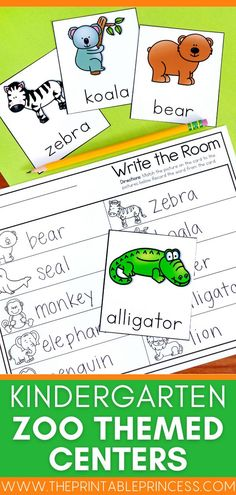 This math and literacy packet includes 6 centers and extra no-prep practice pages with a fun zoo theme. These activities are a perfect addition to your zoo unit or field trip. Activities are hands-on, interactive, engaging and perfect for Kindergarten!