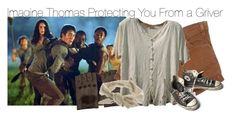 """""""Imagine Thomas Protecting You From a Griver"""" by xdr-bieberx ❤ liked on Polyvore featuring AGNELLE, Miss Selfridge and Converse"""