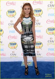 G Hannelius at the Teen Choice Awards 2014