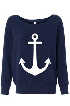 anchor sweater... love