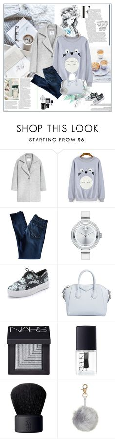 """I Dream My Painting, And Then I Paint My Dream"" by foreeva ❤ liked on Polyvore featuring mode, Dolce Vita, ASOS, IDeeen, MANGO, 7 For All Mankind, Movado, Ash, Givenchy en NARS Cosmetics"