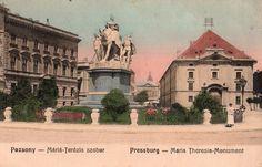 Bratislava, Austro Hungarian, Old Town, Taj Mahal, Empire, Louvre, Statues, Building, Travel