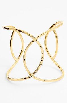 gorjana 'Taner' Interlocking Cuff available at #Nordstrom $120
