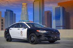 #Curiosidades #coches_híbridos Así es el auto híbrido que Ford prepara para persecuciones policiales