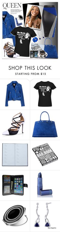 """""""""""Be Bold....Queen"""" """" by queenvirgo ❤ liked on Polyvore featuring Emma Watson, Club Monaco, Meghan Los Angeles, Smythson, Nuuna, Folio, Lipstick Queen, Wedgwood, Oravo and Style & Co."""