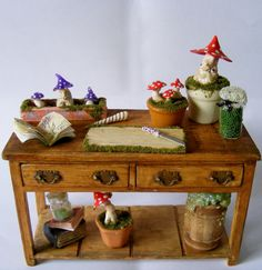 1/12th scale miniature fantasy table for by MichaelRMiniatures, £45.00