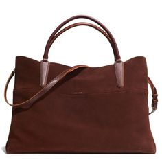 the xl soft borough bag in suede