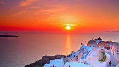 σαντορινη ηλιοβασιλεμα - Αναζήτηση Google Santorini Tours, Santorini Island, Santorini Greece, Santorini Travel, Mykonos, Greece Tours, Greece Travel, Romantic Holiday Destinations, Village Tours