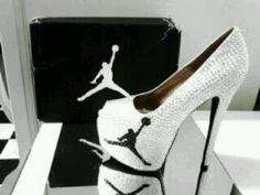 Micheal Jordan high heels- I totally want these!!! Hahaha