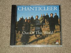 CHANTICLEER: Out of This World: A Chanticleer PORTRAIT (CD, Music, Classical)  #SacredMusicAnthemFolkSongSongAnthemPopularSongMagnificatFolkSong