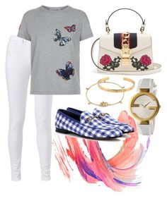 """Casual"" by pitaa29 on Polyvore featuring Valentino and Gucci"