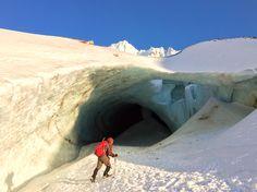 Sandy Glacier Caves. My. Hood