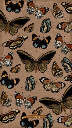 Witchy Wallpaper, Hippie Wallpaper, Pastel Wallpaper, Cartoon Wallpaper, Cool Wallpaper, Iphone Background Wallpaper, Butterfly Wallpaper, Aesthetic Iphone Wallpaper, Galaxy Wallpaper