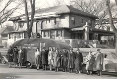 """TSCPL made the LA Times! """"Topeka, Kan., got its first bookmobile in 1943"""" was featured in their blog, Jacket Copy."""