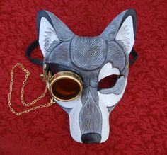 All The Better To See You With- steampunk wolf #7 by merimask on DeviantArt