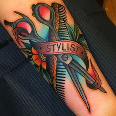 #samuelebriganti #drumtatto #scissor#traditionaltattoo #traditional #inked…