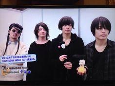 [Champagne]2014/1/17 石川テレビ「N-18 凸」「COUNTDOWN JAPAN 13/14」会場で収録したインタビューをO.A.! Rock Bands