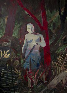 Anthony Cudahy - Stalker, oil on canvas, x Kunst Inspo, Art Inspo, Illustrations, Illustration Art, Figurative Kunst, Expressive Art, Cool Paintings, Art Sketchbook, Watercolor And Ink