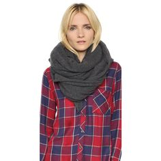 White Warren Cashmere Travel Wrap ($298) ❤ liked on Polyvore featuring accessories and scarves