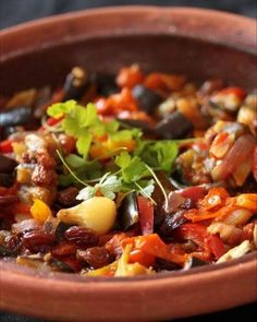 Eggplant and Fennel Tagine with Spring Onion, Preserved Lemon and Nigella Seeds (potato-free, sugar-free) Tajine Vegan, Gourmet Recipes, Cooking Recipes, Homemade Fries, Nigella Seeds, Potato Rice, Healthy Grains, Large Salad Bowl, Healthy Sugar