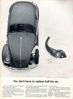1961 Volkswagen Advertising Car and Driver September 1961