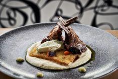 French cut sauté with potato bar, sweet garlic & oil. Olympic Restaurant, Potato Bar, Executive Chef, Olympics, Lamb, Waffles, Garlic, Oil, French