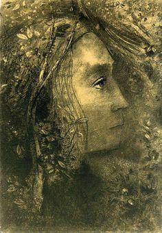 Odilon Redon - Spring (1883)