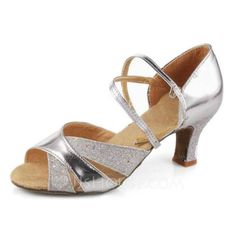 Chaussures de danse - $13.99 - Similicuir Chaussures à talons Sandales Danse latine Salle de bal Chaussures de danse (053007246) http://jjshouse.com/fr/Similicuir-Chaussures-a-Talons-Sandales-Danse-Latine-Salle-De-Bal-Chaussures-De-Danse-053007246-g7246?pos=recommendations_6