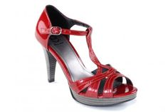 """Diana Warner """"Penny"""" Shoe in red patent leather!! Anyone on the hunt for the perfect Ruby Slipper???"""
