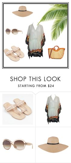 da7ac298cab0 Beach Holiday Time by banjarans onfeaturing Gucci, Sam Edelman , Ray-Ban  and Banjarans handmade leather sandals in natural nude